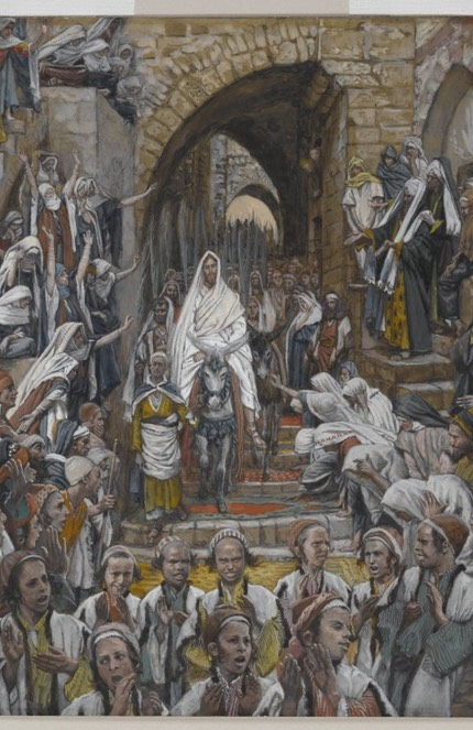 Brooklyn Museum - The Procession in the Streets of Jerusalem (Le cort�ge dans les rues de J�rusalem) - James Tissot